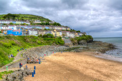 New Quay Wales Royalty Free Stock Photography