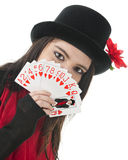 New Queen of Hearts Stock Photo