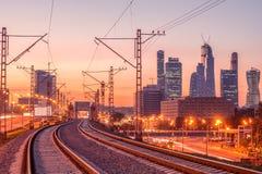 New railway line. Stock Image