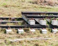 New railway set Royalty Free Stock Photography