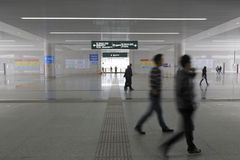 The new railway station hall. Amoy city, china Stock Photo