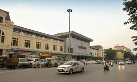 New railway station in Hanoi Stock Images