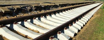 New railways Royalty Free Stock Images