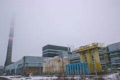 New reactor shelter at Chernobyl, Ukraine. New big reactor shelter at Chernobyl, Ukraine Stock Photos
