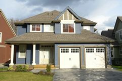 New Real Estate Home House Royalty Free Stock Image
