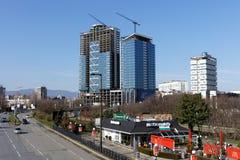 New real estate in Sofia, Bulgaria Stock Photos