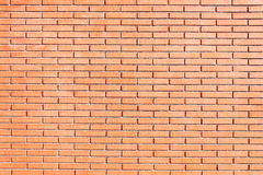 New red brick wall background texture Royalty Free Stock Images