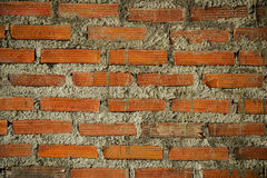 New red brick wall pattern texture background Royalty Free Stock Image