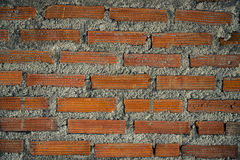 New red brick wall pattern texture background Stock Image
