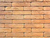 New red brick wall texture grunge background Stock Images