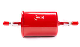 New red car fuel filter Stock Photography
