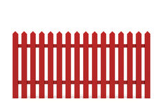 New red fence Stock Photo