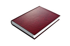 New red hardcover book with blank cover Royalty Free Stock Image