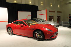 New red italian sports car Stock Image