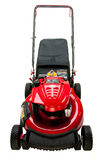 New Red Lawn Mower Royalty Free Stock Photos