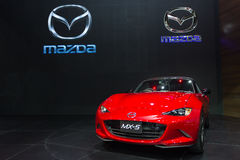 The new red Mazda MX-5 Royalty Free Stock Photography