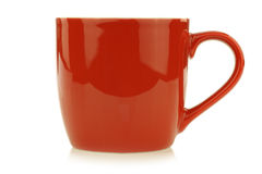 New red mug Stock Images