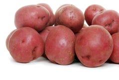 New red potatoes Stock Photo