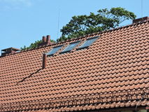 New red roof Royalty Free Stock Photo