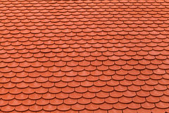 New red roof tiles Royalty Free Stock Photos