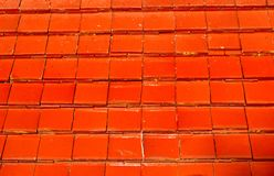 New red roof tiles Royalty Free Stock Photo