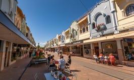 New Regent`s Street, Christchurch stock photo