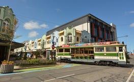 New Regent Street in Christchurch - New Zealand Stock Image