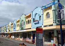 New Regent Street Renovation in Christchurch, New Zealand Stock Photo