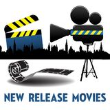 New release movie Royalty Free Illustration