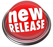 New Release Product Debut Update Refresh Red Button Refresh Stock Photo