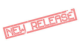 New Release rubber stamp Stock Photos