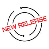 New Release rubber stamp Royalty Free Stock Image