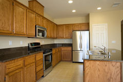 New or remodel residential kitchen stock photo