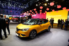 New Renault Scenic Royalty Free Stock Photography