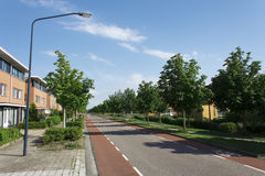 New Resident Area. Eco Friendly Dutch New Resident Area at Hoorn, North of Amsterdam, Netherlands Stock Photography