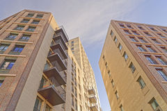 New residential apartment blocks Stock Photo