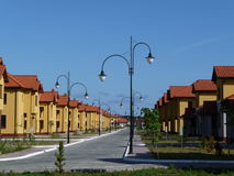 New residential area. Stock Images