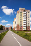 New residential area in the city Stock Images