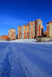 New residential buildings. Balashikha, Moscow region, Russia. Royalty Free Stock Images