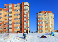 New residential buildings. Balashikha, Moscow region, Russia. Stock Images