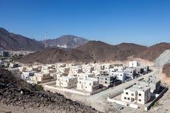 New residential buildings in Fujairah Royalty Free Stock Photos