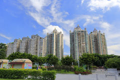 New residential buildings in guangzhou Royalty Free Stock Photo