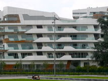 New residential buildings in Milan, Italy Royalty Free Stock Photos