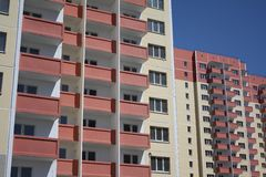 New residential complex Royalty Free Stock Photos