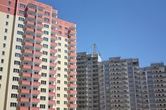New residential complex Royalty Free Stock Images