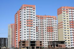 New residential complex Stock Image