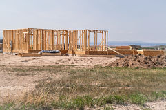 New Residential Construction Stock Image