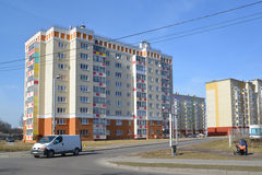 The new residential district in Kaliningrad Stock Images