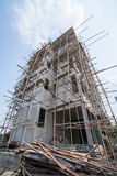 New residential home under construction Royalty Free Stock Image