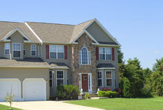 New residential house Stock Photo